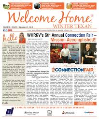 welcome home winter texan vol 2 issue 6 november 23 2016 by