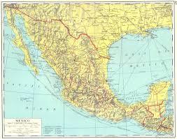 me a map of mexico mexico mexico guatemala 1962 map