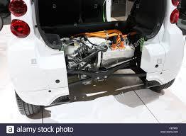 Electric Car Battery Mitsubishi Miev Stock Photo Royalty Free