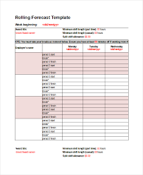 Demand Forecasting Excel Template by Excel Forecast Template 11 Free Excel Documents Free
