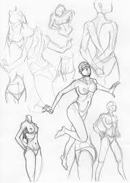 female sketches feb 4 2009 by igm transformer on deviantart