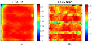 remote sensing free full text evapotranspiration estimate over