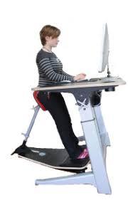 bureau assis debout fauteuil de bureau ergonomie assis debout 2 bureau