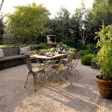 Plans For Patio Table by French Style Gravel Patio Gardens Pinterest Gravel Patio