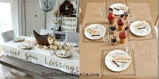 5 easy thanksgiving tablecloth ideas to make for your meal