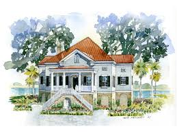 house plan of the month lowcountry cottage southern living