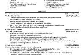 roofing labourer resume u0026 top roofing laborer resume s u0026les free