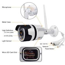 Outdoor Motion Sensor Light Security Camera U0026 Micro Sd Card