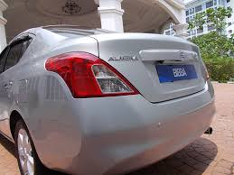 nissan almera boot space auto international