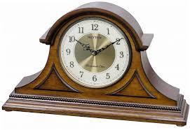 home decor imports inc wsm remington ii rhythm wood mantel clock variations imports