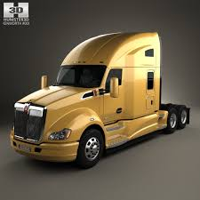 2017 kenworth t680 price kenworth t680 tractor truck 3axle 2012 3d model from humster3d com