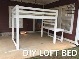 Bunk Bed Design Plans Diy Loft Bed Plans By White Handmade With