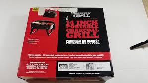 Backyard Grill Charcoal Walmart by Amazon Com Backyard Grill 14 Inch Portable Charcoal Grill Patio