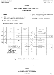 Rotary Coil Wiring Diagram Western Electric Products Telephones Model 500