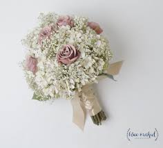 wedding flowers exeter bridal bouquet rustic bouquet dusty bouquet baby s breath