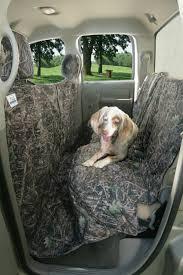 covercraft canine covers custom camo dog seat cover cross peak