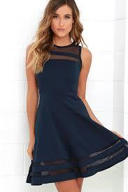blue dress navy blue mesh dress navy homecoming dress 48 00
