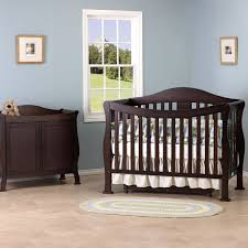 Cribs With Attached Changing Table by Davinci Parker 4 In 1 Convertible Crib In Coffee K5101f Free Shipping
