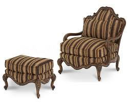 Wood And Leather Chair With Ottoman Design Ideas Furniture Vintage Brown Velvet Fabric Accent Chair And