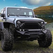 jeep matte green amazon com u max front matte black gladiator grid grill for jeep