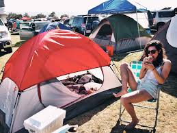 Comfortable Camping How Not To Camp At Coachella Always Erin