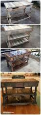 Pallet Kitchen Island Pallets Wood Made Kitchen Island 101 Pallet Ideas U0026 Pallet