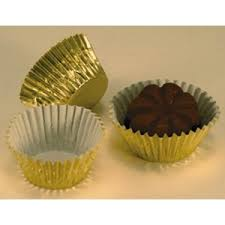 foil candy cups gold foil mini candy cups for small chocolates kitchen krafts