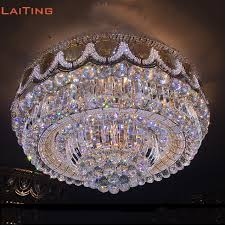 Fancy Ceiling Lights Laiting Flush Mounted Ceiling Light Classic K9 Fancy
