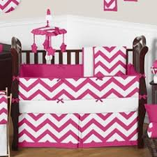 Pink Chevron Crib Bedding Chevron Baby Bedding Chevron Crib Bedding