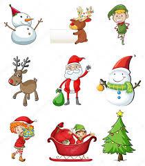christmas symbols u2014 stock vector interactimages 38833749