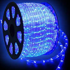 wyzworks 150 blue led rope lights 2