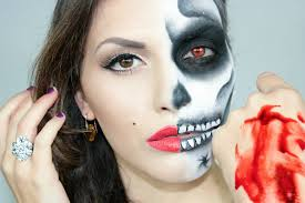 Sugar Skull Halloween Makeup Tutorial by Make Up Tutorial Marilyn Monroe Skull Halloween 2012 Youtube