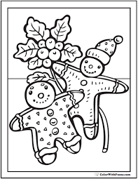 the gingerbread man coloring pages gingerbread men coloring page