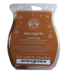 amazon com scentsy baked apple pie scented wax baked apple home