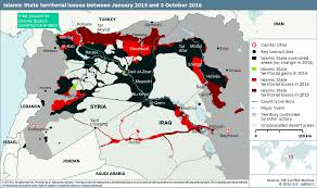 Iraq On World Map This Map Shows How Much Territory Isis Has Lost In 2016 World