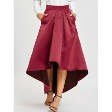 high low skirt cheap casual style online free shipping at