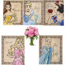 polyvore home decor smartness ideas disney princess canvas wall art with couture