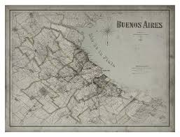 Buenos Aires Map Buenos Aires Map Vintage City Map Of Buenos Aires Argentina