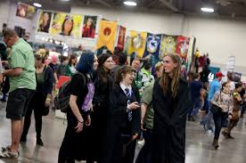 fanx brings celebrities costumes and lots of swag to salt lake