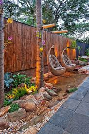 landscape lighting design ideas best narrow backyard on pinterest