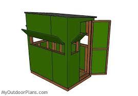 Building A Box Blind Deer Box Blinds Plans The Best Deer 2017