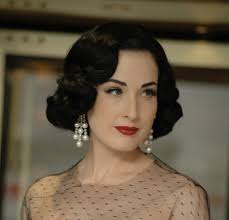 ask dita von teese what is the best method for curling my hair