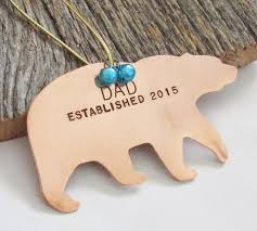 new dad ornament for godparent new daddy christmas ornament for