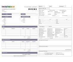 Florist Invoice Template by Free Service Invoice Format For Florist