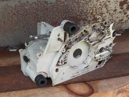 stihl ms180 chainsaw tank and engine housing chassis chainsawr