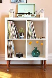 Ikea Shelves Cube by Ikea Hack Expedit Into Long Storage Unit Ikea Expedit Ikea