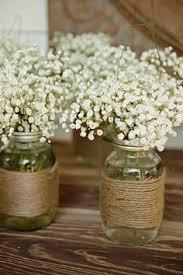 Mason Jar Floral Centerpieces Jessica U0026 Greig U0027s Real Wedding Floral Wedding Decor Wedding
