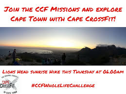 crossfit and fitness training in cape town south africa cape