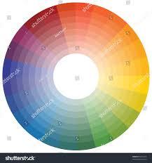 Cmyk Spectrum Color Wheel Stock Vector 62213416 Shutterstock