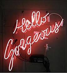 Neon Signs For Bedroom Purple U0027let U0027s Get Weird U0027 Real Glass For Gift Or Home Bedroom Beer